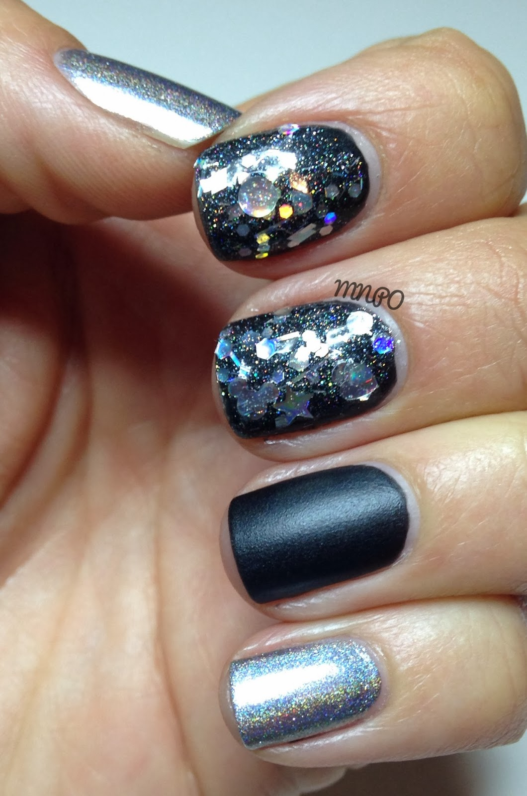 My Nail Polish Obsession: New Years Eve Nails