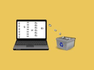 cara membersihkan laptop dari file sampah