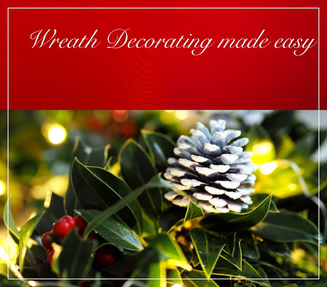 Wreath decorating made easy