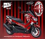 Decal Nmax AC Milan