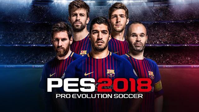 Pro Evolution Soccer 2018 (PES 2018) تحميل مجانا