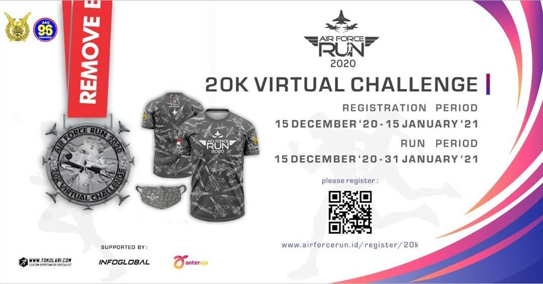 Air Force Run - Virtual Challenge • 2020.