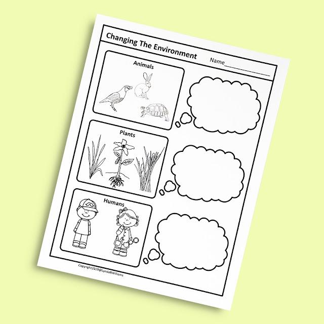 Worksheets for Kindergarten Science