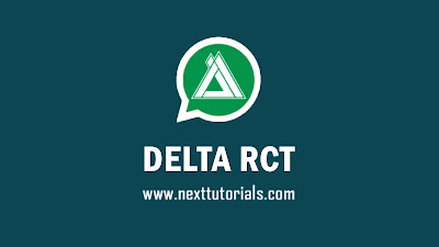 Download DELTA RCT v3.4.1,delta yowhatsapp v3.4.1 latest version 2020,tema delta rct keren,delta yowa v3.4.1,aplikasi wa mod anti ban terbaik 2020