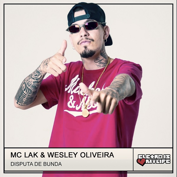 Mc Lak - Disputa de Bunda (Wesley Oliveira Remix)