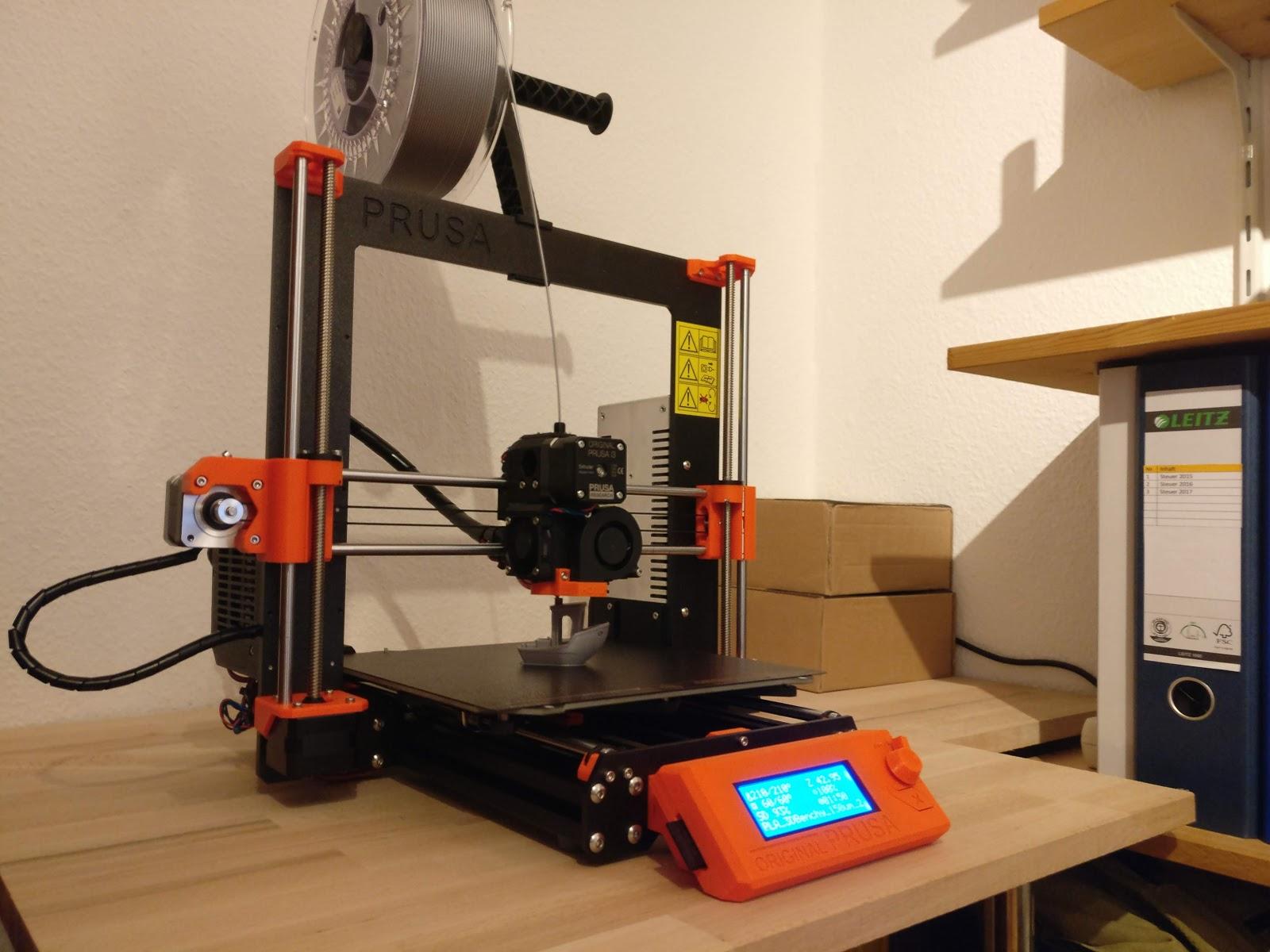jendit: Assembling a 3D Printer - The Original Prusa i3 MK3