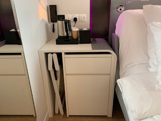 In-room safe and minibar
