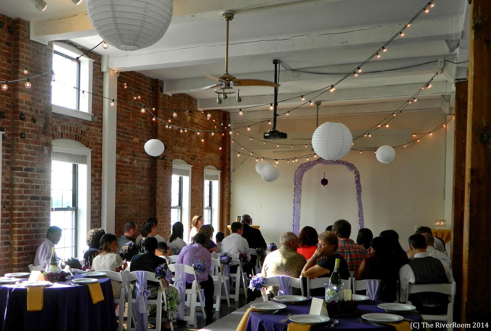 Lindsey & Carl Indoor Wedding Ceremony & Reception