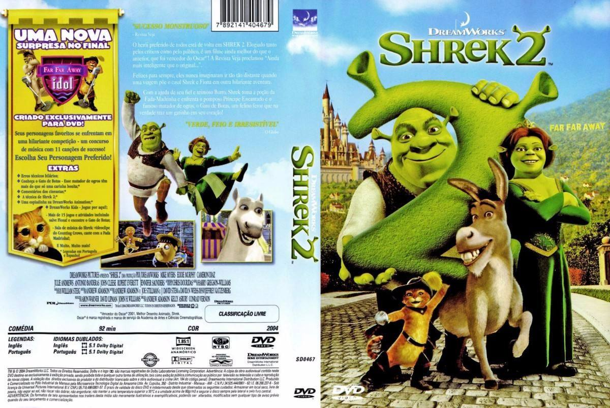 Blog dos Cacá : SHREK 2 ( 2004 ) EM DVD-R black39 [ACERVO]