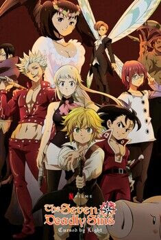 The Seven Deadly Sins Cursed by Light Torrent - WEB-DL 1080p Dual Áudio