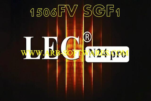 LEG N24 PRO IRON 1506FV 512 4M SGF1 V10.08.27  TCAM-G SHARE PLUS NEW SOFTWARE 28-9-2020