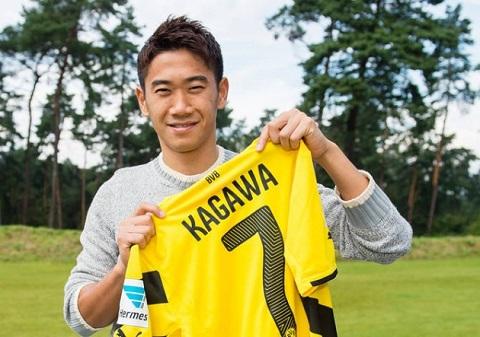 Kagawa chơi cực tốt ở Bundesliga