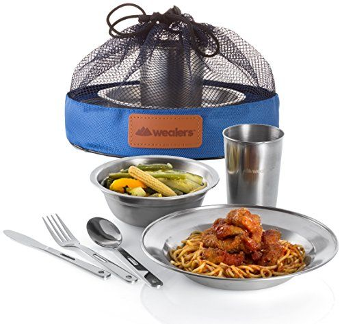 dishes for camping