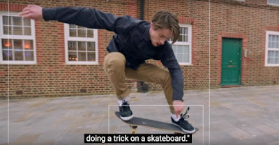 boy doing a trick on a skateboard