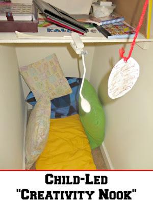Child-Led Creativity Nook