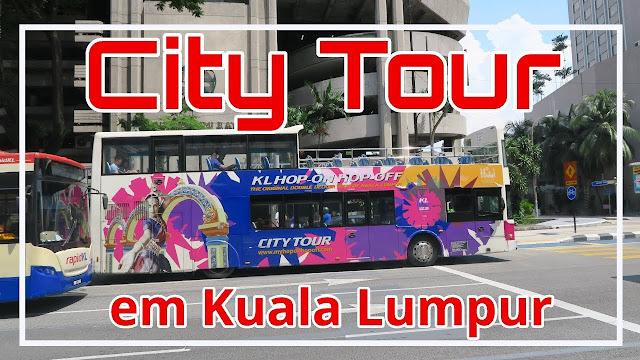 City tour em Kuala Lumpur