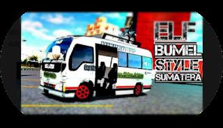 Mod Bussid Elf Bumel Style Sumatera