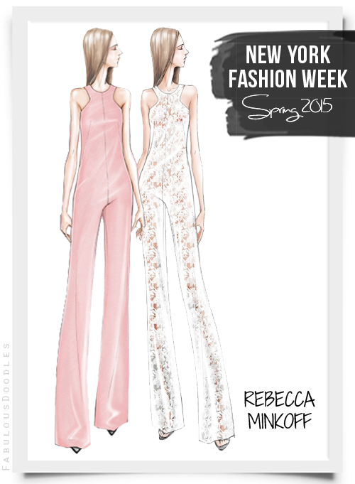Fabulous Doodles Fashion Illustration Blog By Brooke Hagel Nyfw Designer Sketches Spring 2015 Part 1