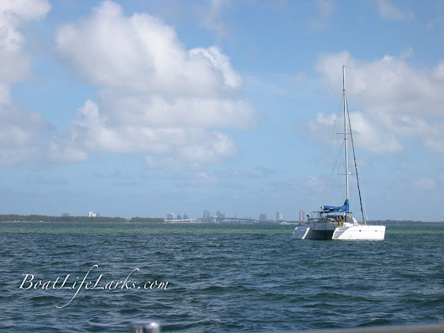 Lagoon 37 sail catamaran in Miami