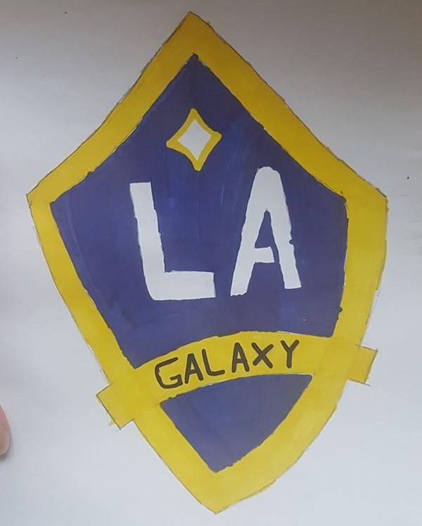 LA Galaxy logo | DevotedQuilter.com