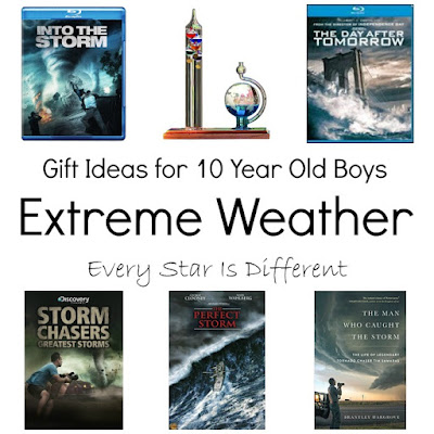 Exreme weather gift ideas for 10 year old boys.