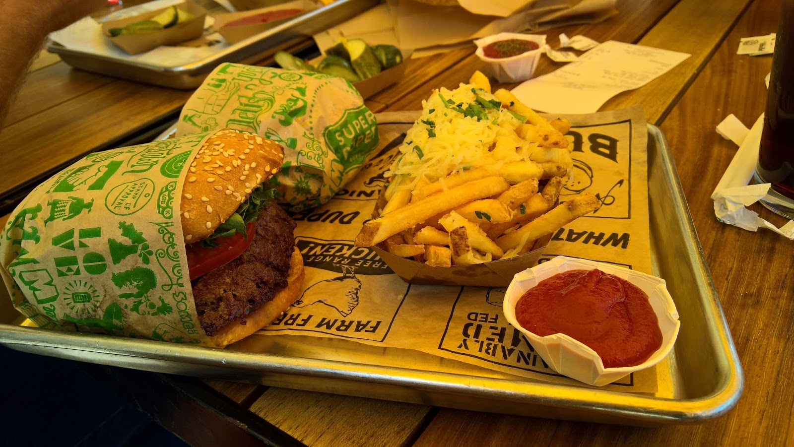 super duper burgers pikaruokaravintola san francisco california hampurilainen matkailu matkajuttu mallaspulla