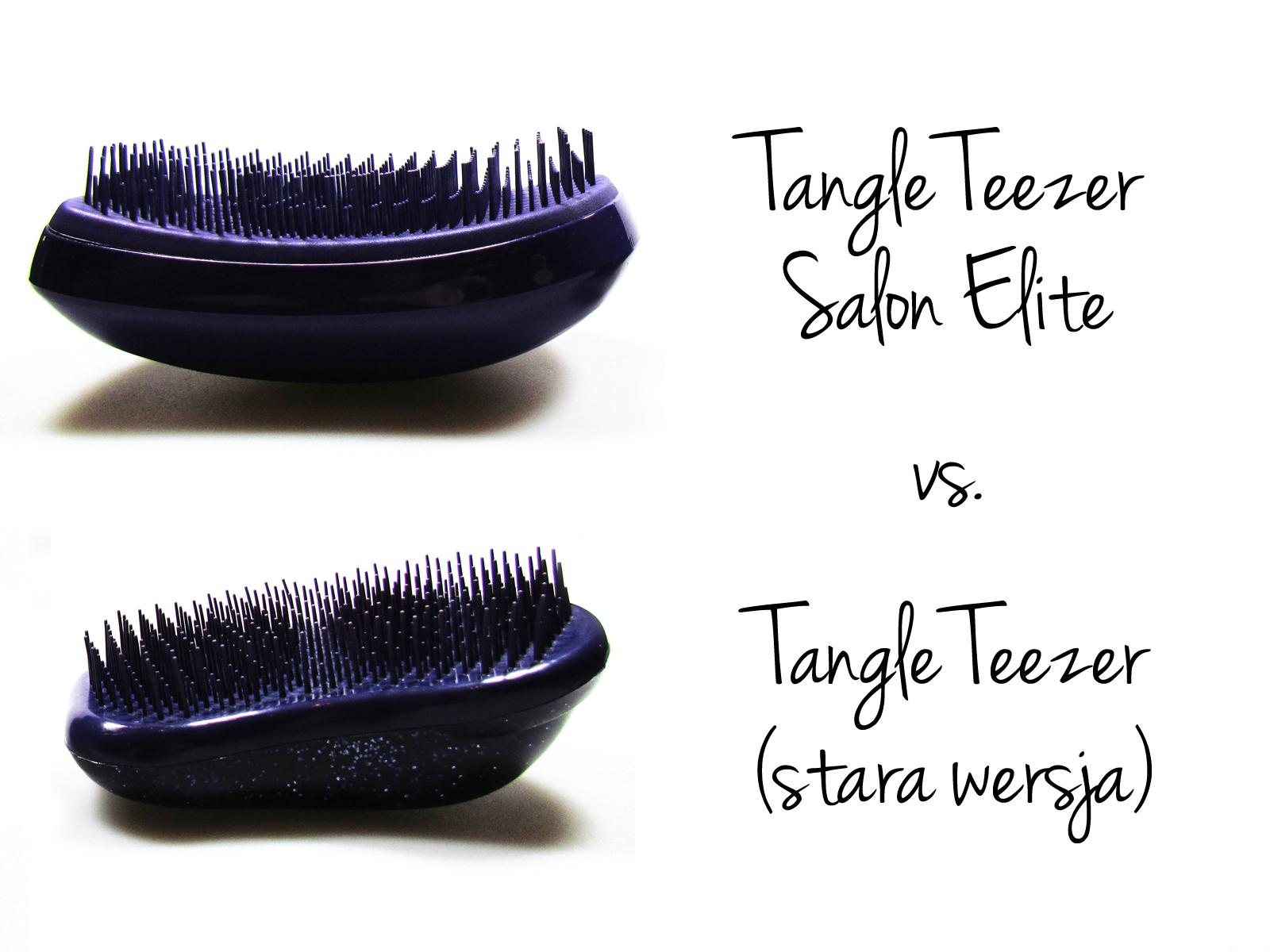 TANGLE TEEZER SALON ELITE VS. TANGLE TEEZER