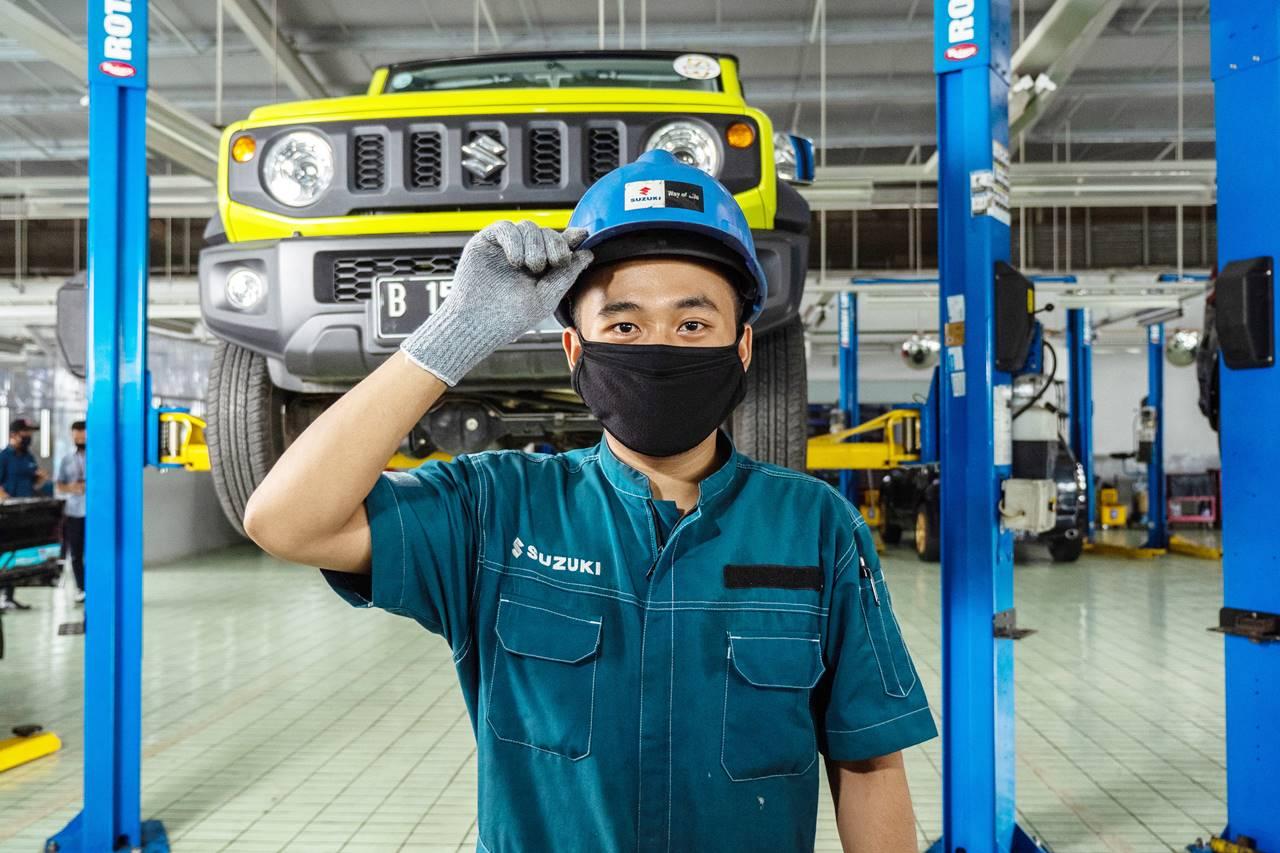 Bengkel Resmi Suzuki Siapkan Layanan Darurat Selama Libur Lebaran