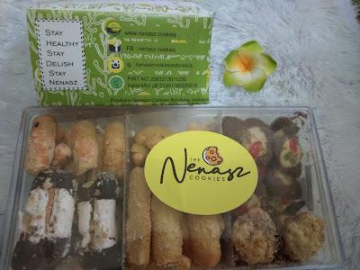 Nenasz Cookies untuk Kue Lebaran