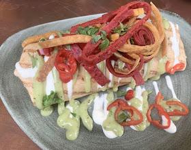 Burrito at Destination 1850 Newcastle