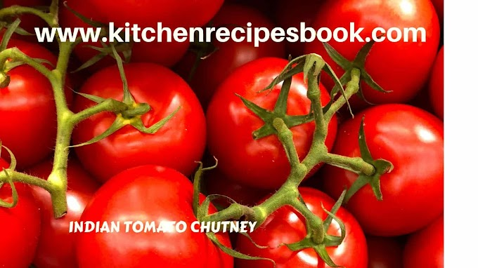 INDIAN TOMATO CHUTNEY RECIPE | MAKING OF INDIAN TOMATO CHUTNEY RECIPE