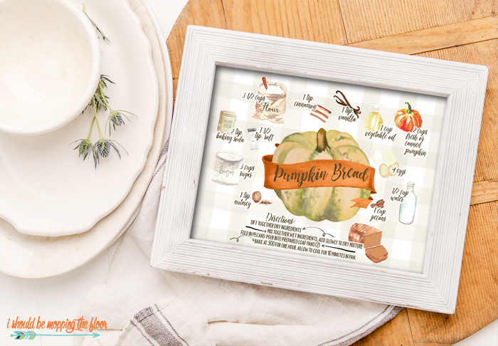 Recipe Illustration Printable