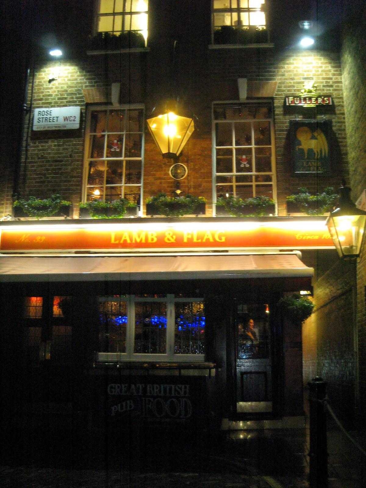"""Pub """"Lamb & Flag"""""""