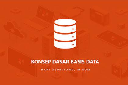 Materi Kuliah Konsep Dasar Basis Data