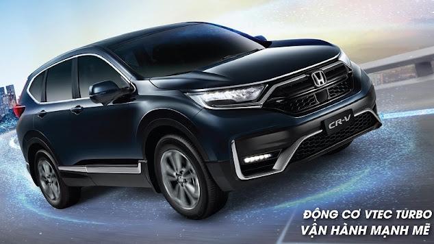 Honda CR-V 2021 bản lắp ráp trong nước đăng ký lái thử xe với hệ thống Honda Sensing, Lanewatch, đặt xe nhận ưu đãi 100% thuế| Honda CRV Facelift