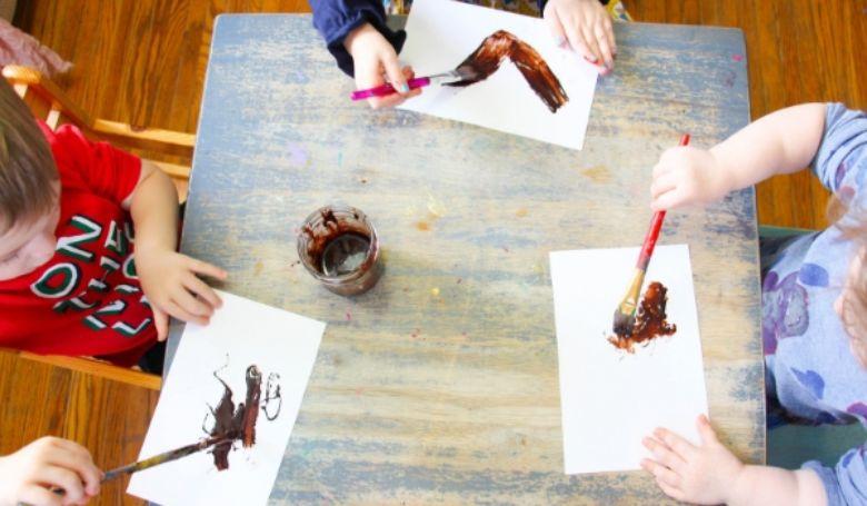 edible chocolate paint recipe