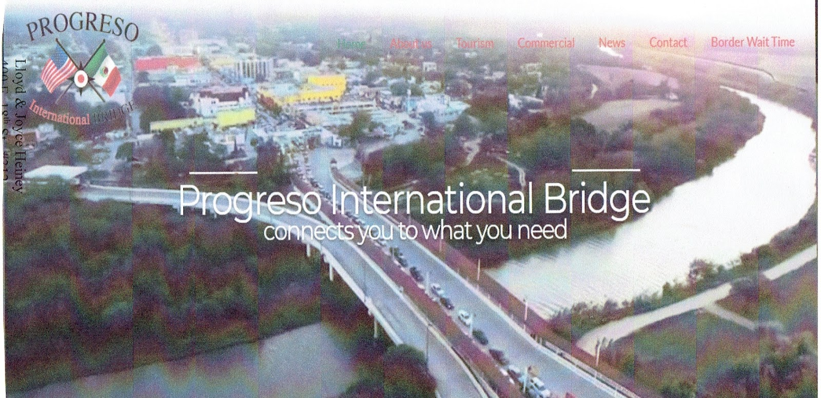 Mission Mexico: PROGRESO INTERNATIONAL BRIDGE