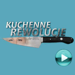 """Kuchenne rewolucje - naciśnij play, aby otworzyć stronę z odcinkami programu Magdy Gessler - """"Kuchenne rewolucje"""" (odcinki online za darmo)"""