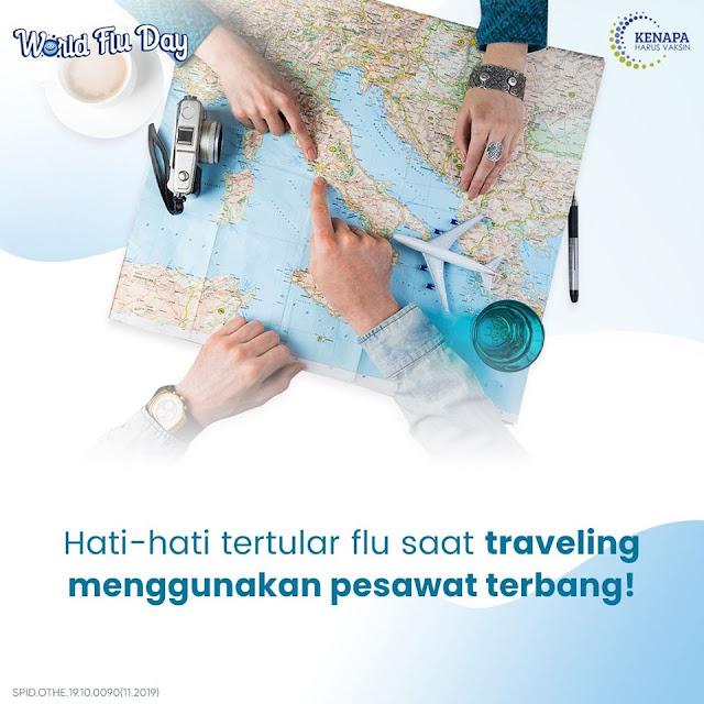 TIPS BEBAS FLU SAAT TRAVELING