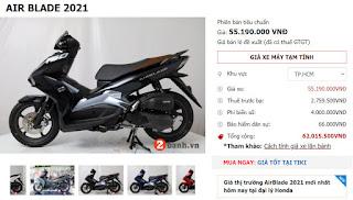 Giá Xe máy Honda Air Blade (2021) 150cc Đặc biệt Phanh ABS