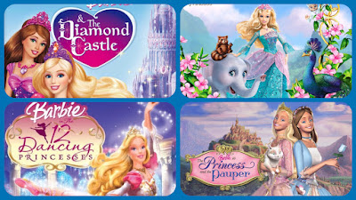 hollywood-top-5-barbie-animated-films, googlehub2019