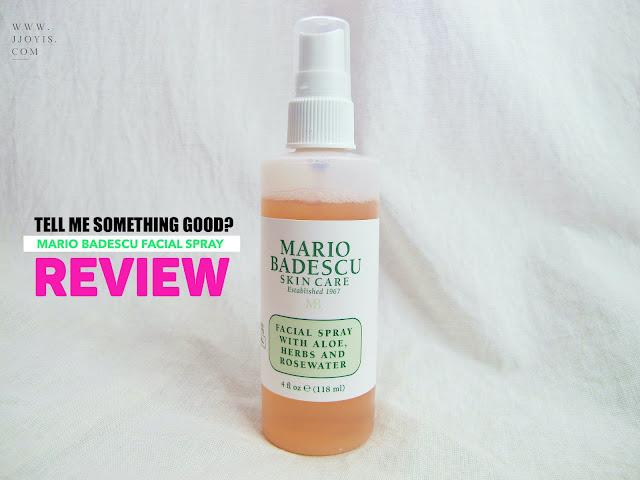 Mario Badescu Facial Spray review