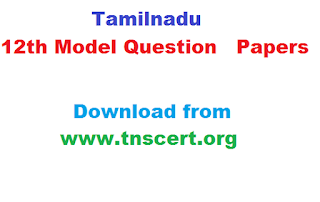 tamilnadu government plus two model question papers download pdf
