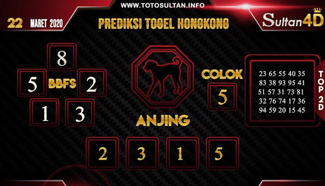 PREDIKSI TOGEL HONGKONG SULTAN4D 22 MARET 2020