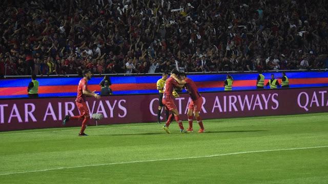 Gran victoria y clasificación de Cerro Porteño