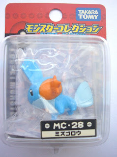 Mudkip figure Takara Tomy Monster Collection MC series