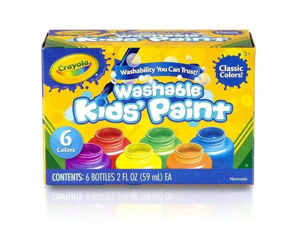 Crayola Washable Kids Paint #christmasgiftsideasforkids