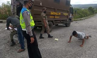Polres Pakpak Bharat Gelar Operasi Yustisi, Petugas Tindak 180 Orang Pelanggar