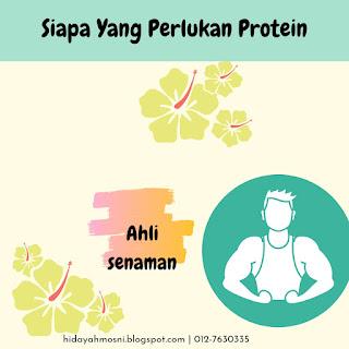 Siapa Yang Perlukan Protein