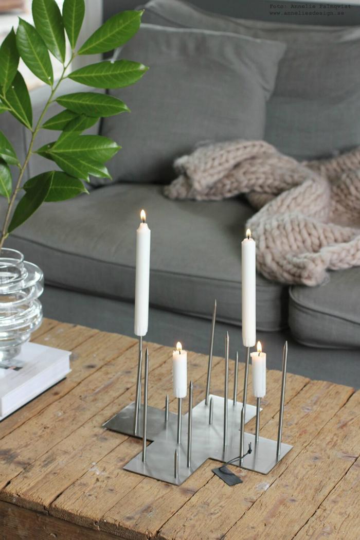 annelies design, ljusstake, ljusstakar, dekoration, candle cross, vardagsrum, vardagsrummet, korp, korpar, fågel, fåglar, tavla, tavlor, webbutik